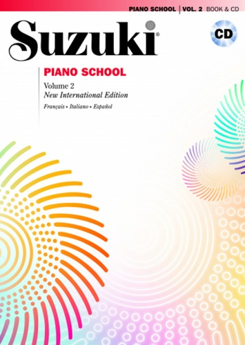 Suzuki piano school volume 2
